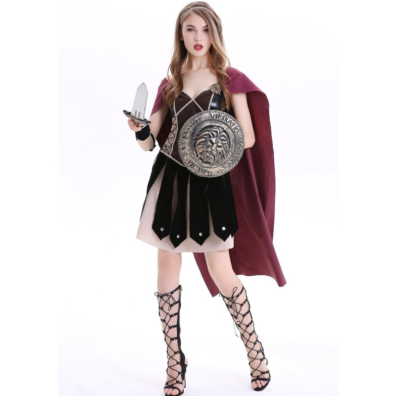 Halloween Costume Party 2021.2021 New Sexy Woman Halloween Party Costume Roman Female Warrior Cosplay Heroine Uniform Stage Performance Costume Party Clothes Aliexpress