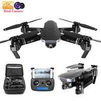 SG901 RC Selfie Drone 4k 1080P HD double caméra pliable suivez-moi FPV Drone professionnel longue durée mouche RC hélicoptère enfants jouets
