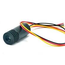 30mW 905nm IR Infrarot Laser Diode Dot Module w/ TTL 0-15KHZ Fokussierbar Einheit DC5V