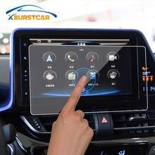 Voiture style 1 pièces GPS Navigation trempé écran protecteur couverture Film de protection pour Toyota C-HR CHR C HR 2016 2017 2018 2019