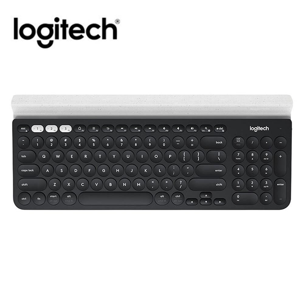 Logitech K780 Multi-Device Wireless Keyboard for PC Computer Phone Tablet full-size silent keyboard compatible with Windows, Mac