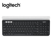 Logitech K780 Multi Device Wireless Keyboard for PC Computer Phone Tablet full size silent keyboard compatible with Windows, Mac