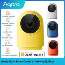 Оригинальная умная камера aqara g2h шлюз версия zigbee 30 1080p