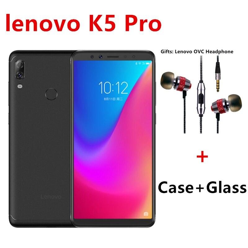 Global Firmware Lenovo K5 Pro L38041 Smart Phone SDM636 Octa Core 5.99