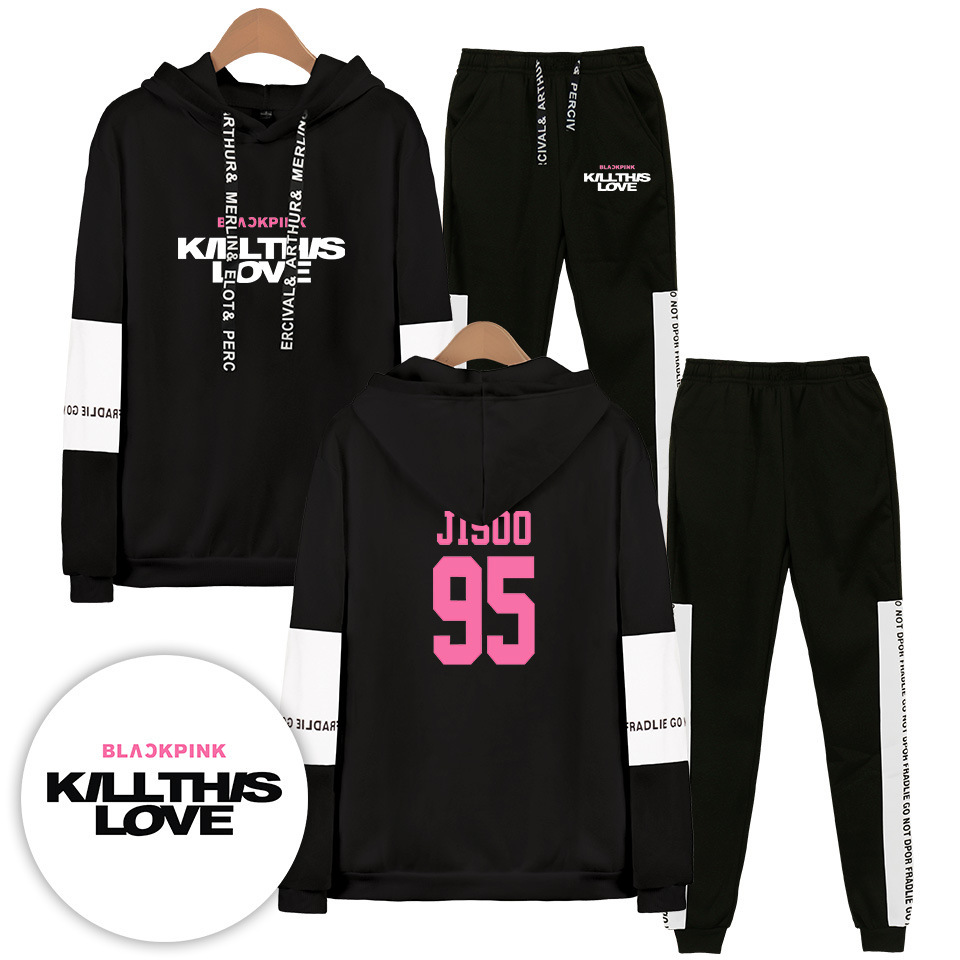 South Korea Band BLACKPINK Killthislove New Series Related Products Fashion Joint Set