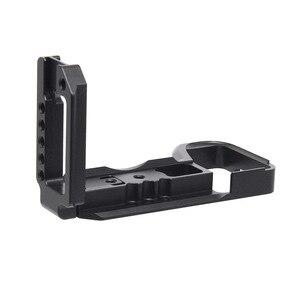 Image 4 - Kamera Käfig für Sony a6600 Pro Kamera Käfig L Quick Release Platte Doppel Kopf Kalten Schuh Stabilisator Rig Käfig Für sony EINE 6600