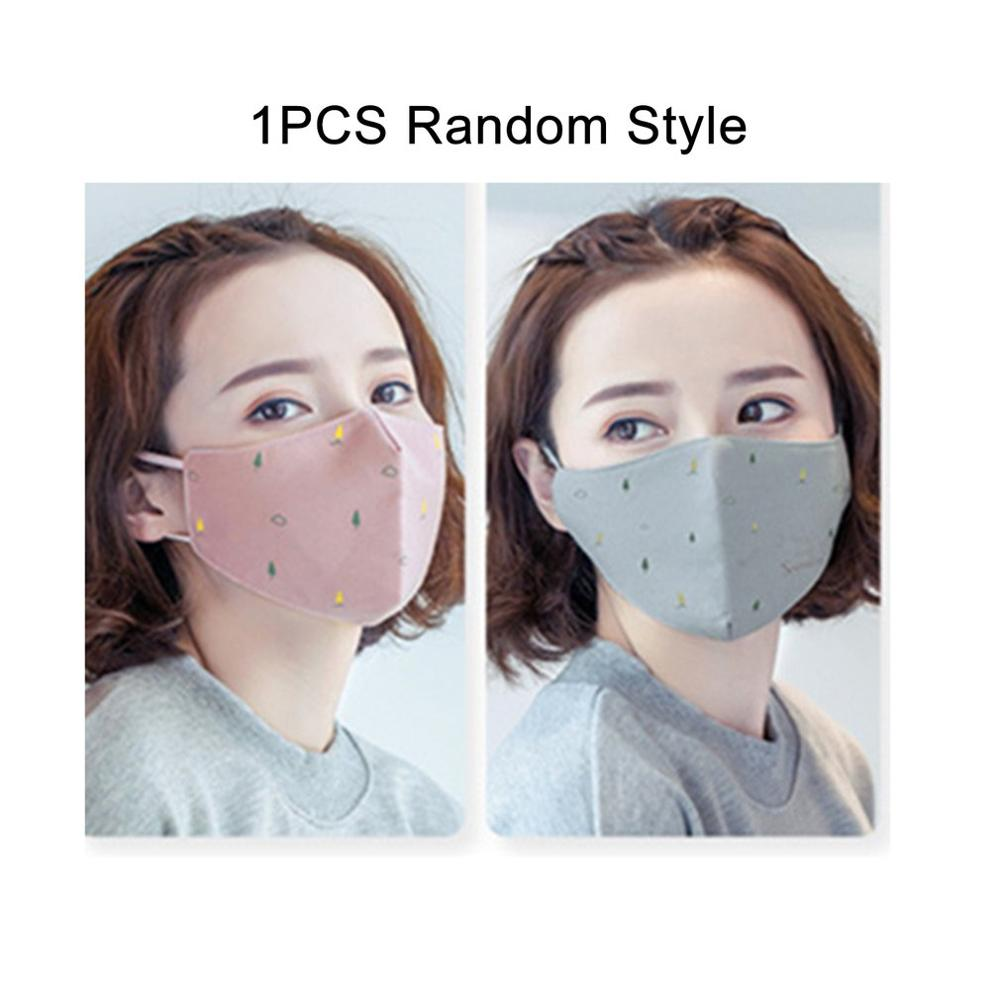 Breathing Valve Anti-fog And Haze Masks For Winter Warm And Breathable Cotton Men And Women PM2.5 Masks With The Same Filter Dus