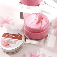 LAIKOU Japan Sakura Clay Mask Deep Cleansing Whitening Repair Skin Mud Korean Face Mask Oil Control Shrink Pores Skin Care Masks 1