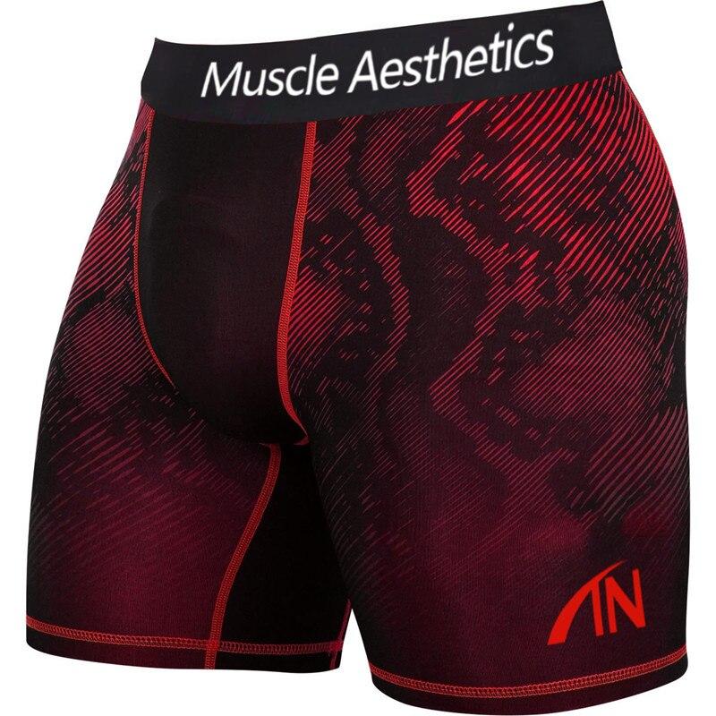 Men's Quick Dry Gyms Summer Fitness Sport Leggings Slim Shorts Male Sport Shorts Men Compression Short Running Tights