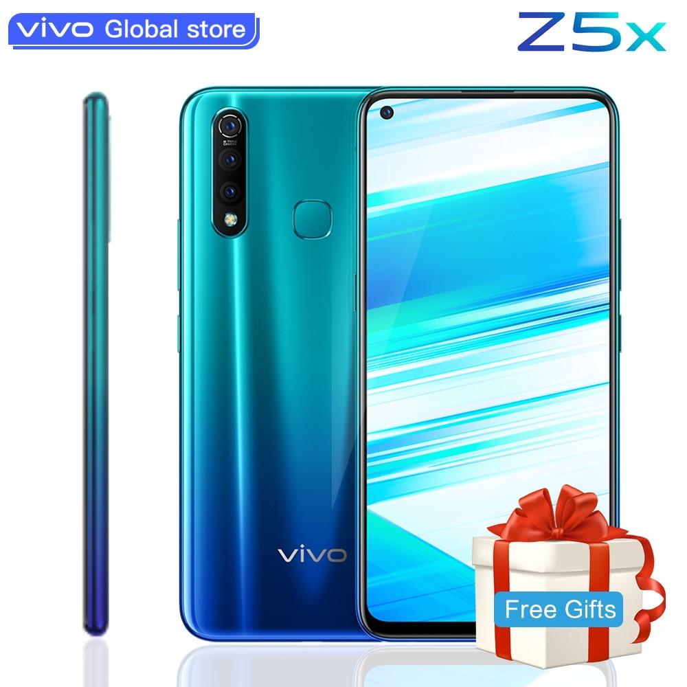 """Téléphone portable vivo Z5x original 6.53 """"écran 8G 128G snapdragon 710 16MP appareil photo 5000mAh batterie 18W Charge Smartphone portable"""