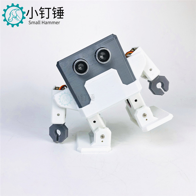 OTTO H Robot Humanoid Mobile Phone Bluetooth Remote Control Programming DIY Dancing Robot Toy Maker Arduino 3D Printing
