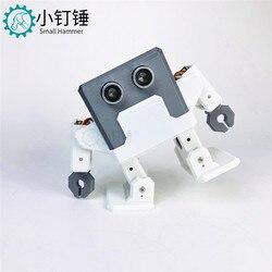 OTTO H robot umanoide del Bluetooth del telefono mobile di controllo remoto di programmazione FAI DA TE di dancing robot giocattolo maker arduino 3D stampa