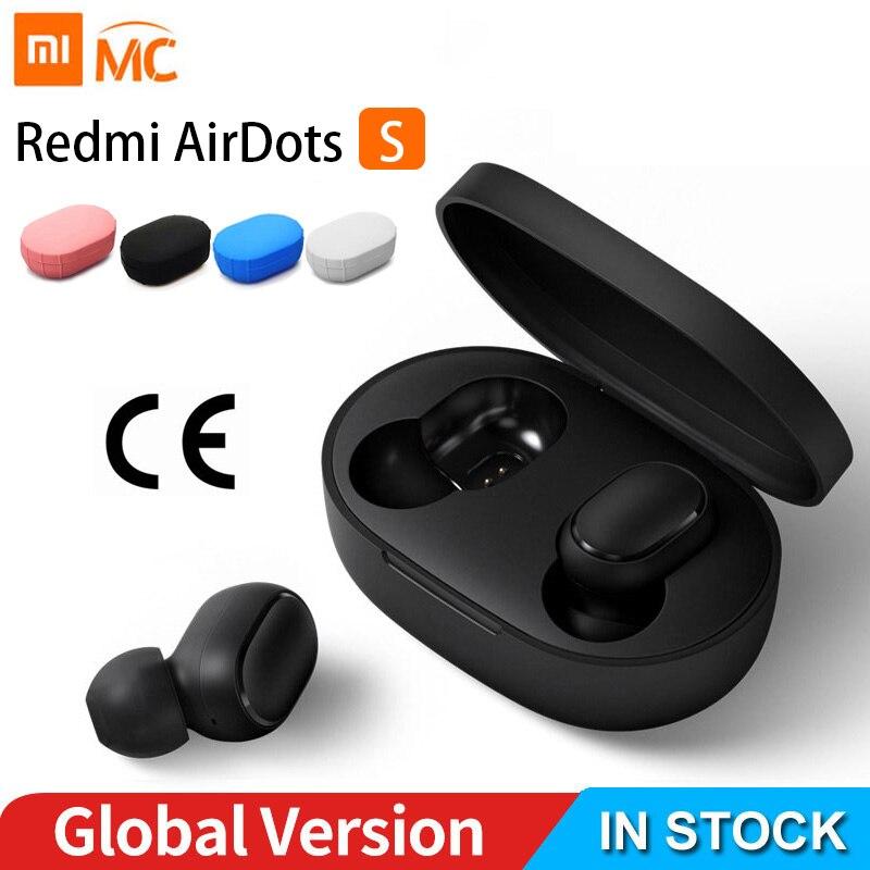 В наличии Xiaomi Redmi Airdots Xiaomi Беспроводной голосовые Управление Bluetooth 5,0 Шум уменьшения нажмите Управление