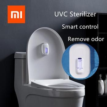 Xiaomi mijia Xiaoda Smart UVC Ultraviolet Sterilization Deodorizer Intelligent USB IPX4 UV Germicidal Lamp for Smart Home