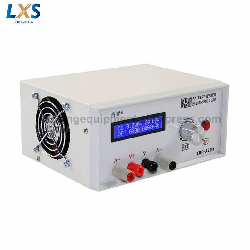 Battery Capacity Tester EBD-A20H Electronic Load Power Supply Tester Discharger Meter 20A