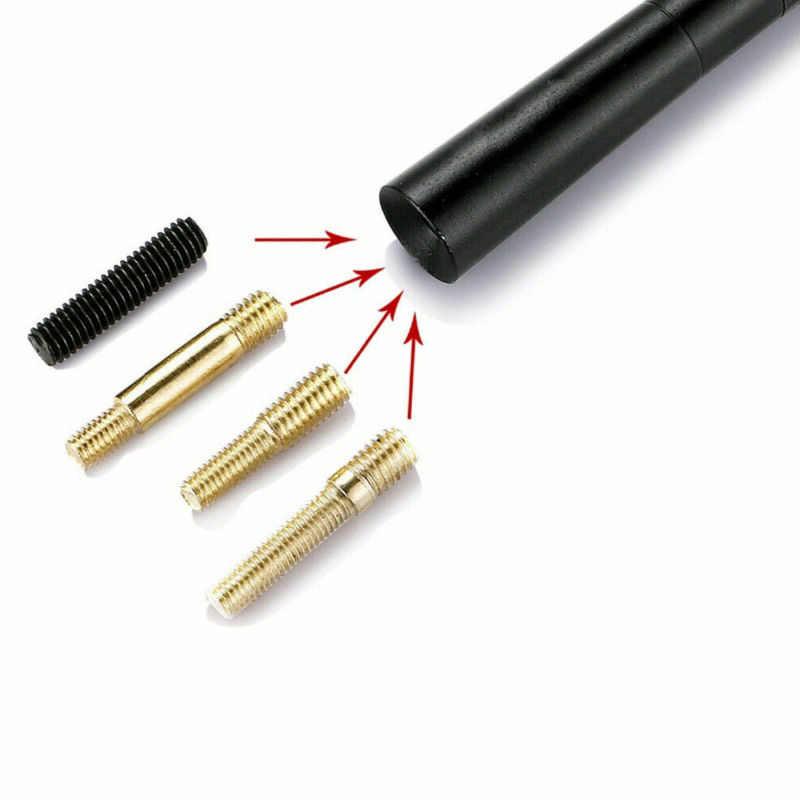 ブラックカーボン繊維車のアンテナラジオ FM Antena 黒キット成形ネジ