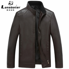 New style men's Haining leather coat in autumn and winter