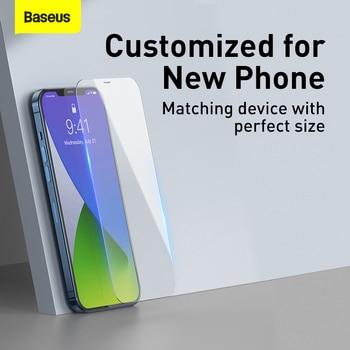 Baseus 2 шт. 0,3 мм защита для экрана из закаленного стекла для iPhone 12 11 Pro XS Max XR X SE
