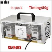 Xeoleo 50 g/h gerador de ozônio móvel máquina desinfecção de ozônio portátil casa purificador de ar esterilizador ar para sala ar mais limpo