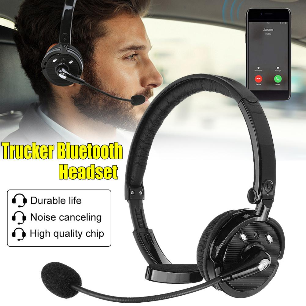 BH-M10B Trucker <font><b>Over</b></font>-<font><b>Ear</b></font> <font><b>Noise</b></font> <font><b>Canceling</b></font> <font><b>Bluetooth</b></font> <font><b>Headphone</b></font> Handsfree Headset image