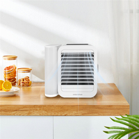 Youpin Microhoo 3 In 1 Mini Air Conditioner Water Cooling Fan Touch Screen Timing Artic Cooler Humidifier