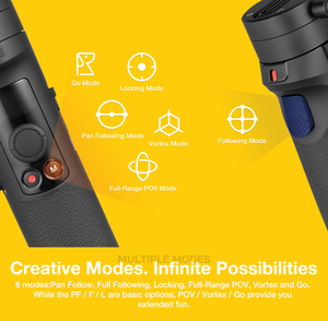 Image 4 - Zhiyun クレーン M2 3 軸ジンバルカメラミラーレスカメラ用ハンドヘルドアクション pk クレーン 2 移動プロヒーロー 5 6 7 スマートフォン