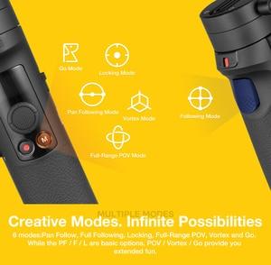 Image 4 - Zhiyun guindaste m2 3 axis handheld cardan câmera estabilizador para câmeras mirrorless ação pk guindaste 2 gopro hero 5 6 7 smartphone