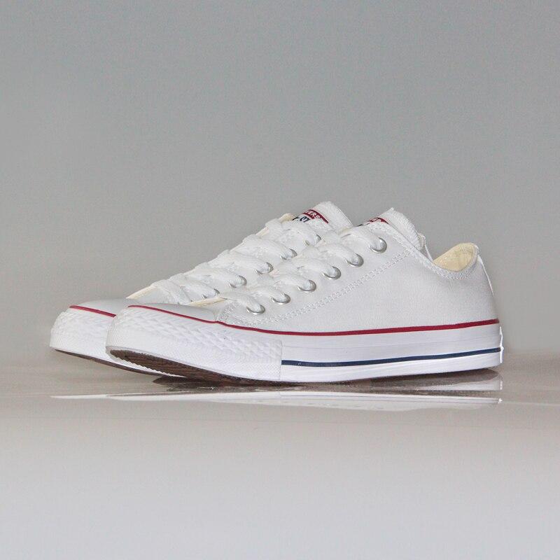 Оригинальный converser классический all star парусиновая обувь для мужчин и женщин с низким классические кроссовки Скейтбординг туфли-лодочки, 4 цв...