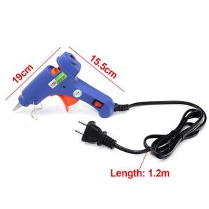 Image 3 - Car Dent Repair Body Damage Fix Tool Pulling Bridge Puller Dent Removal 20W EU Plug Hot Melt Glue Gun Hand Repair Tools