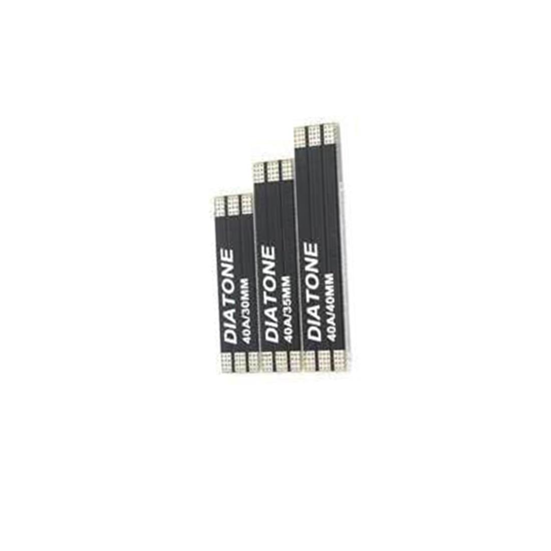 3 шт. DIATONE 2-6S PCB ESC Мотор распределительная плата питания