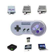 Gamepads Game Controller Voor Nes Snes Classic Mini Gaming Console Pc Windows Ios Android Tv Box Fornintendo Wiseless Joystick