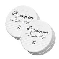 Vazamento de Água Detector de Alarme Sensor De Vazamento De Água Sem Fio Detector de Vazamento de Segurança Casa Sistema de Alarme de Segurança Em Casa