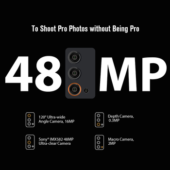 Blackview BV9900E Helio P90 Rugged Smartphone 6GB+128GB IP68 Waterproof 4380mAh 48MP Camera NFC Android 10 Mobile Phone 2