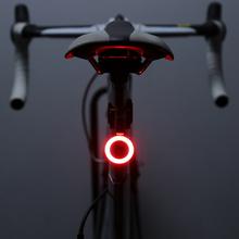 Zacro-światło rowerowe LED przyczepiane do siodełka roweru górskiego lampa rowerowa tylna różne tryby ładowanie USB tanie tanio CN (pochodzenie) ZHA0097 Sztyc rowerowa CE IPX2 IPX2 waterproof bicycle accessories