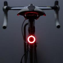 Zacro Multi Beleuchtung Modi Fahrrad Licht USB Ladung Führte Fahrrad Licht Flash Schwanz Hinten Fahrrad Lichter für Berge Bike Sattelstütze