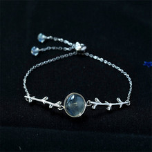 925 sterling silver bracelet The moonlight sen-lin shi contracted personality Sam is a little fresh students girlfriends gift