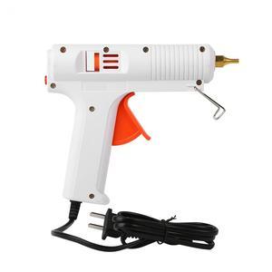Image 2 - 110 ワットホットメルトグルーガン 110 240 調整可能な定温度ヒーターホットメルトグルーガン銃口直径 11 ミリメートル修復ツール