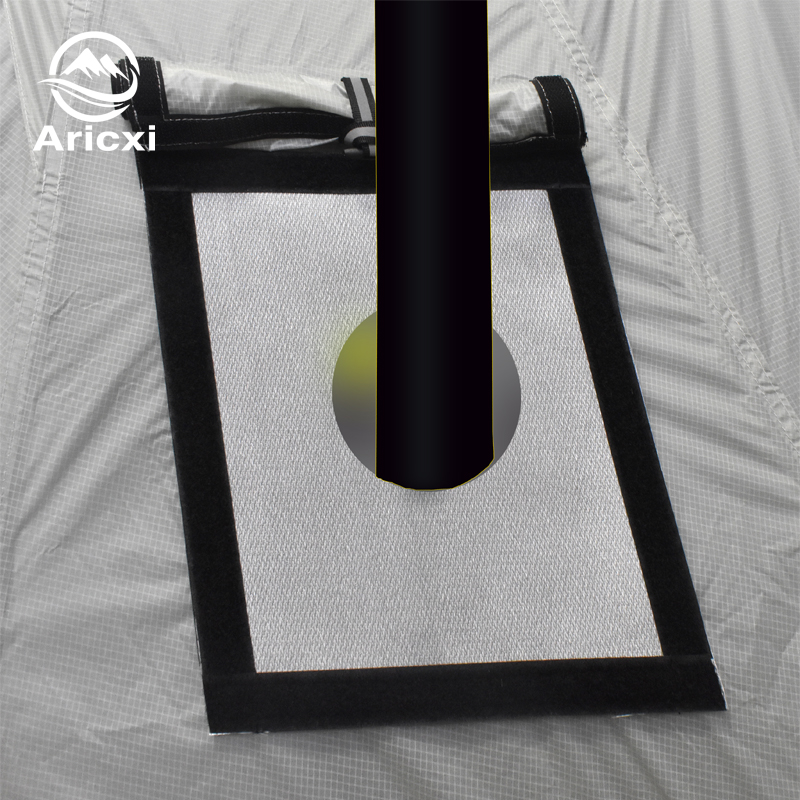 Aricxi Tent Stove Jack Fire Resistant Pipe Vent Accessory Keep Your Use Of Hot Flue Pipes Safe And Secure