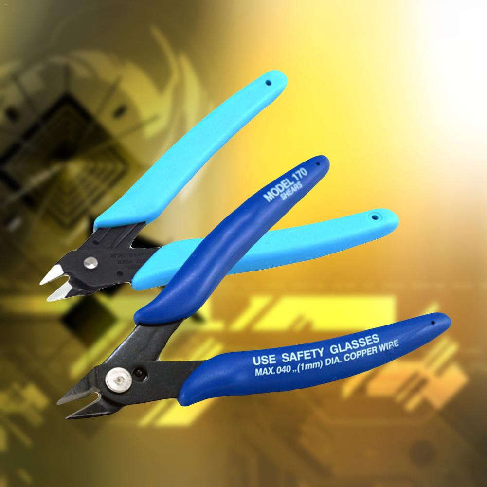 Hight Quality Electrical Wire Pliers Durable Cable Cutters Cutting Side Snips Mini Diagonal Pliers Anti-slip Rubber Hand Tools