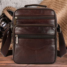 2019 Leather Shoulder Bag Messenger Bags Vintage Solid Color