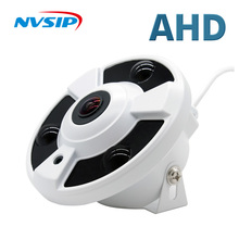 AHD CCTV 카메라 와이드 앵글 Fisheye 파노라마 카메라 AHD 적외선 감시 카메라 보안 돔 카메라 1080P