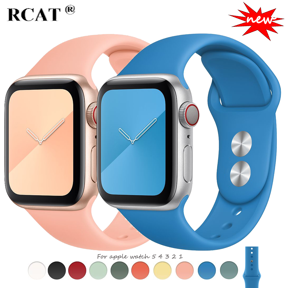 Strap For Apple Watch 5 Band Pulseira Apple Watch 4 5 3 Band 44mm/40mm Iwatch Band 4 42mm 38mm Correa Bracelet Watch Accessories