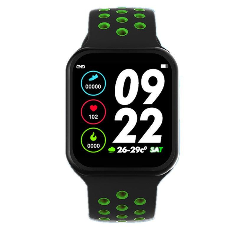 F9 Full screen touch F8 pro smart watch women men Heart rate Blood pressure Smartwatch for IOS Android phone pk S226 P68