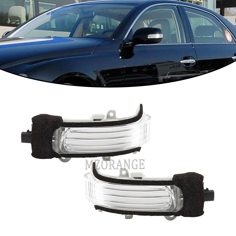 Светодиодный указатель поворота бокового зеркала светильник для Защитные чехлы для сидений, сшитые специально для TOYOTA COROLLA AURIS 2010 2011 2012 2013 ...