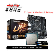 2666mhz Intel-Core Ddr4 8g I5 10400 Gigabyte 1200 Without-Cooler Pumeitou 16G CPU B460M