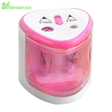 Automatic Electric Pencil Sharpener Time-Saving  School Stationery Supplies Desk Table Pencil Sharpener Office Accessories недорого