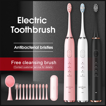 Electric Toothbrush Toothbrush Sonic Ultrasonic Brush IPX7 Waterproof Sonic Toothbrush Recharge Sterilization Discount