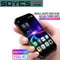 Мини-смартфон Soyes S10, 3 + 32 ГБ, MTK6737, Android