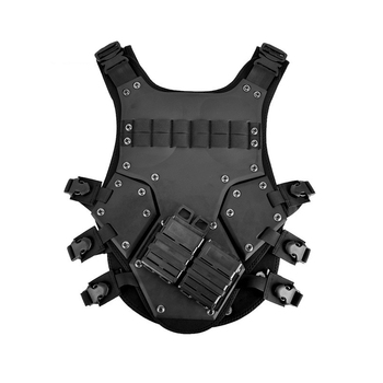 TF3 Vest Body Armor Transformer3 Airsoft Paintball Molle Combat Gear Black