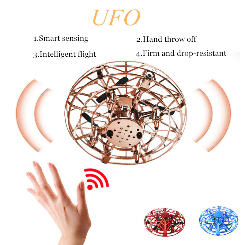 Mini Helicopter UFO RC Drone Infraed Hand Sensing Aircraft Electronic Model Quadcopter flayaball Small drohne Toys dropshipping 4